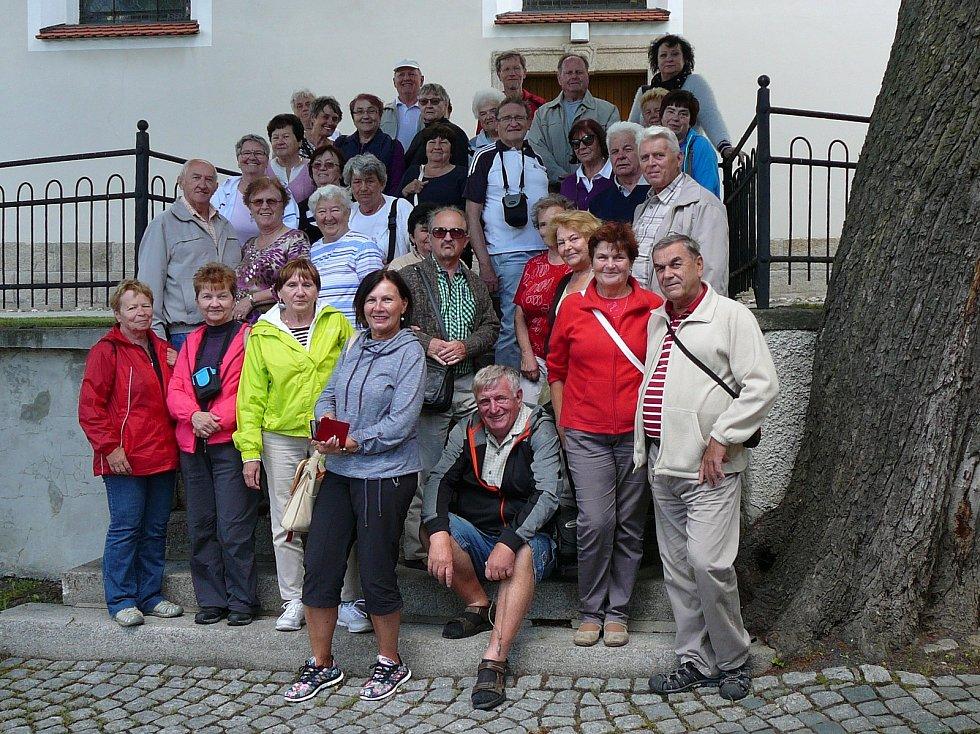 Humpolečtí senioři se podívali do západních Čech i Německa.