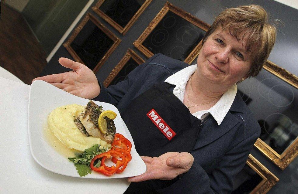Vítězka vysočinského kola soutěže Deníku o nejlepší recept v sobotu vařila v Praze.