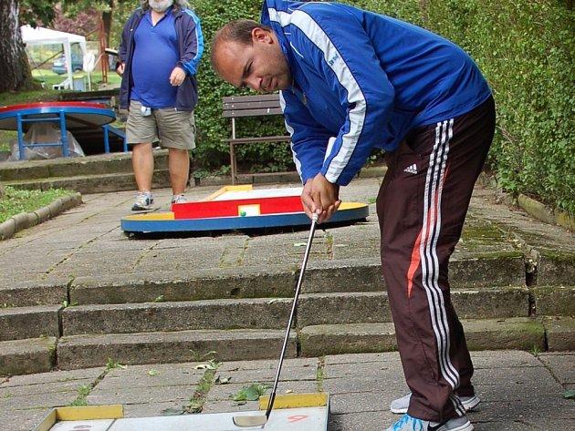 Pelhřimov bude o víkendu hostit turnaj Grand Prix, hráči z celé republiky už se ale na drahách v Děkanské zahradě připravují už v těchto dnech.