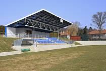 Zmodernizovaný sportovní areál Za Branou v Pacově.