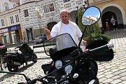 Žehnání motorek v Pelhřimově.