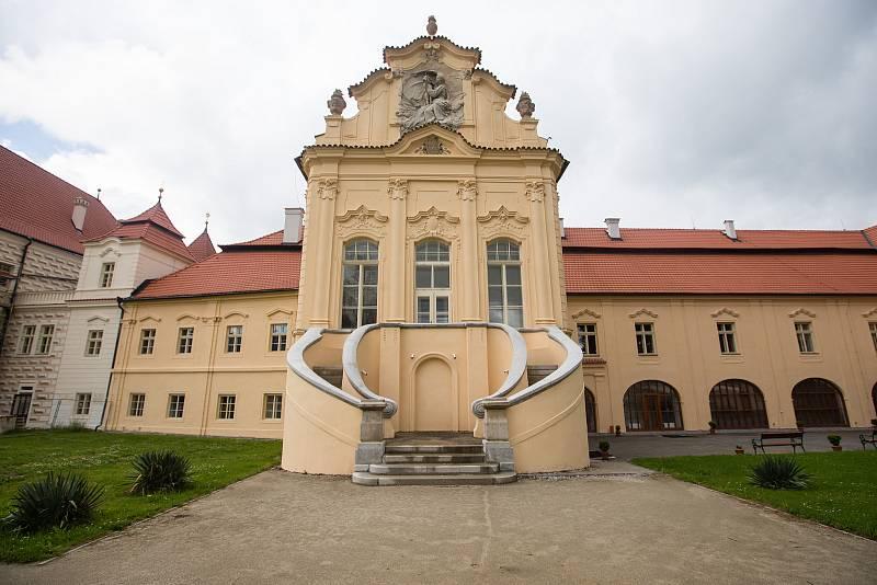 Klášter Želiv na Pelhřimovsku.
