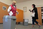 Volby v Želivě.