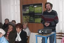 Ochránce přírody přednášel o drobných sakrálních stavbách v pacovském Muzeu Antonína Sovy.