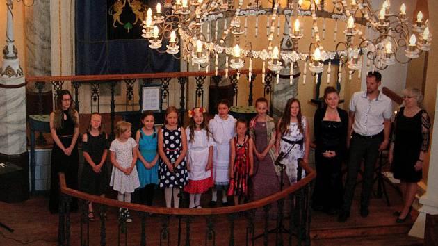 Koncert v novocerekvické synagoze. Foto: archiv