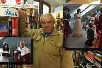 Pelhřimovský knihkupec zemřel v pondělí 9. listopadu v Nemocnici Pelhřimov.