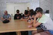 Zážitkový seminář Potmě v Pacově.