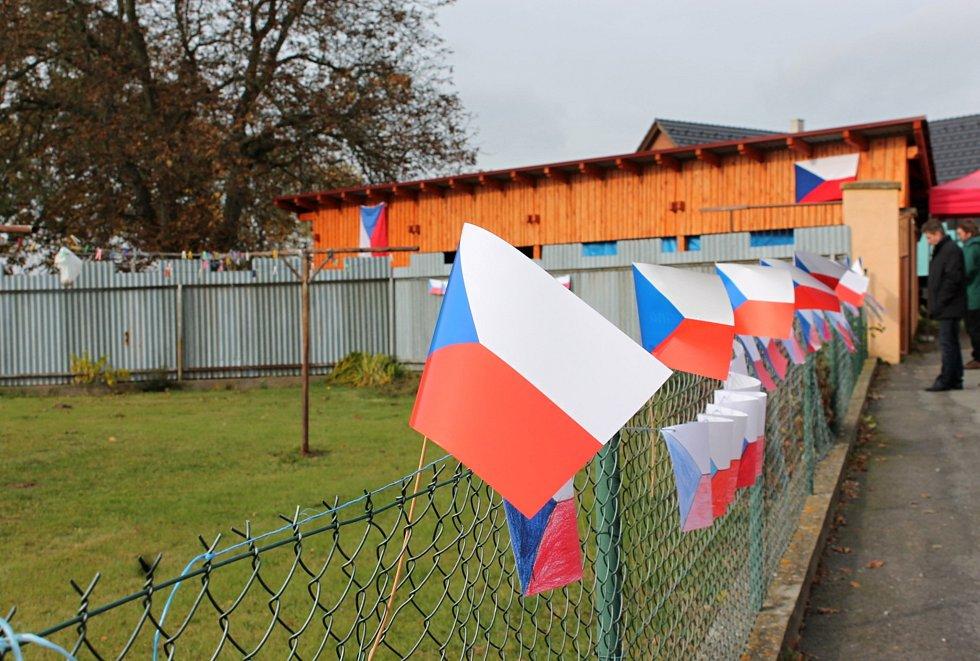 Vlajky v Putimově