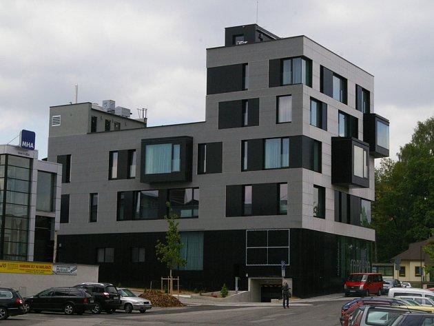Hotel Fabrika v Humpolci.