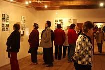 Minulý týden se v Galerii Bernarda Bolzana v Těchobuzi uskutečnila vernisáž výstavy s názvem Cestou autorky Jany Wienerové. Potrvá do 30. května.