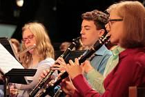 Na krajské soutěži orchestrů základních uměleckých škol z Vysočiny se představil Dechový orchestr mladých ZUŠ Humpolec.