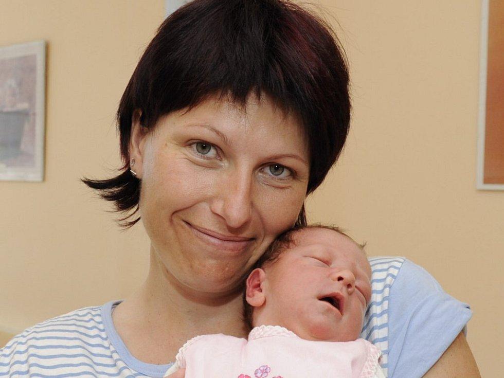 Barbora Vaněčková, 17. května 2009, Jindřichův Hradec, váha: 3600 g