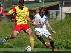 Pohodová výhra.  Fotbalisté Lukavce na cestě za postupem neklopýtli. V Černovicích po bezchybném výkonu vyhráli 5:0.