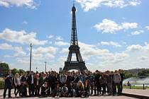 Studenti navštívili Paříž.