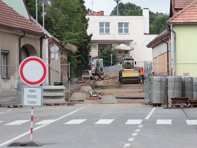 Centrum Červené Řečice je uzavřené.