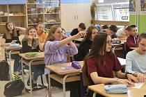 Na Základní škole Krásovy domky v Pelhřimově si žáci a učitelé vyměnili role.