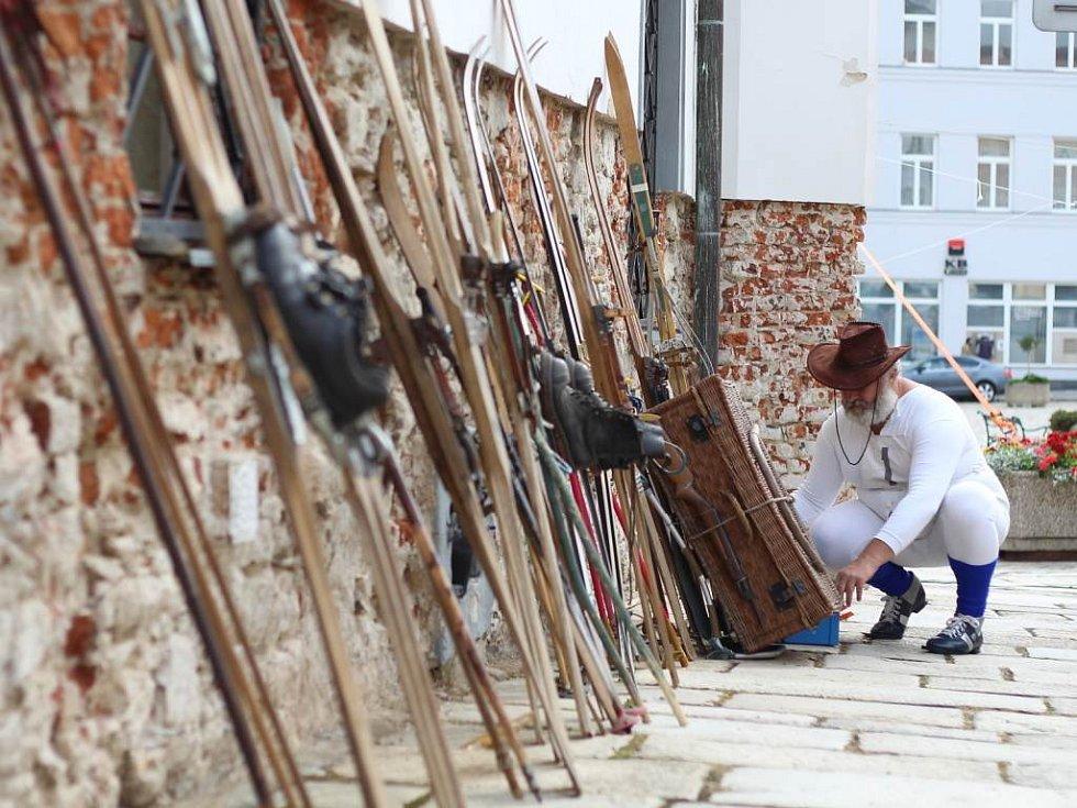 Do sedlického úprku se zapojilo několik desítek letních lyžařů.