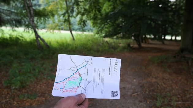 Stezka z mlatového povrchu, která povede v místě bývalé polní cesty, bude dlouhá bezmála jeden kilometr.