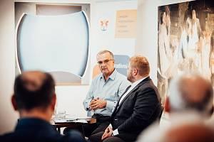 Inspirativní debata s Miroslavem Kalouskem v Pelhřimově.