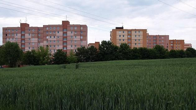 Obchvat povede okolo  sídliště na Táborské ulici.