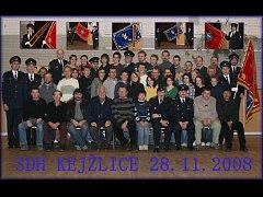 Sbor hasičů v Kejžlici vznikl v roce 1891 a nyní má celkem 88 členů. Ve sboru působí dvě soutěžní družstva mužů, jedno žen a dvě dětí.