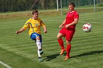 Fotbalisté Speřic dvakrát za sebou vysoko vyhráli.