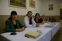Volební komise v Pavlově