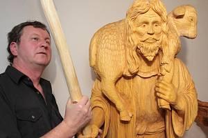 Figurální betlém Bohumila Biňovce spatří veřejnost poprvé 3. prosince.