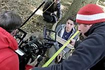 Filmaři na Černovicku natáčeli do pondělního dne. Ode dneška už jsou ve Švýcarsku.