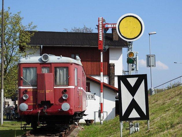 Železniční muzeum zahajuje sezonu.