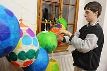 Děti si vytvořily originální lampiónky.