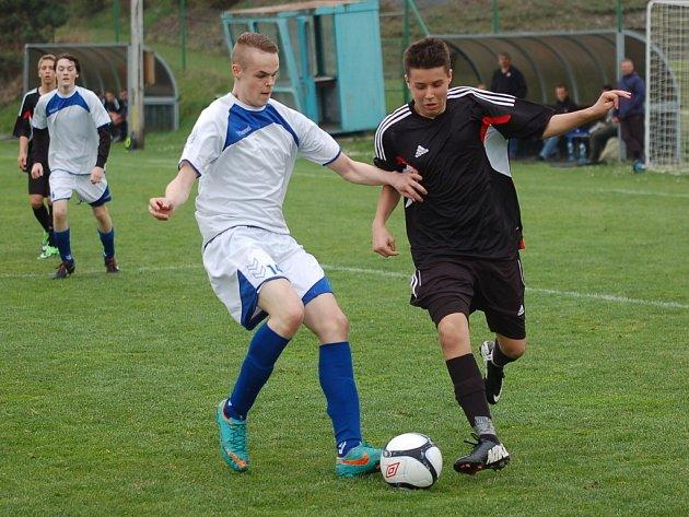 Mladší dorostenci na Blansko nestačili. Od soupeře inkasovali půltucet gólů.