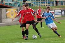 Skvělou formu mají fotbalisté Pelhřimova B, vyhráli už pátý zápas v řadě.