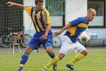 Fotbalisté Pacova v roli favorita obstáli, v derby Pelhřimovska porazili Nový Rychnov a dali tak zapomenout na zrovna povedenou přípravu.