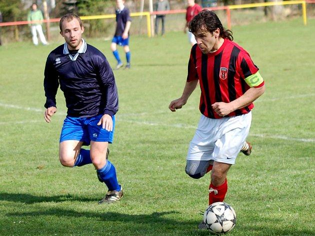 Do sestupové šlamastyky jsou namočeni fotbalisté Humpolce B i Speřic.
