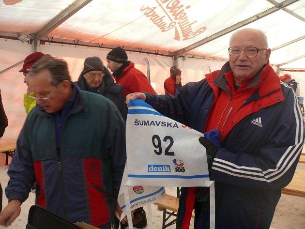 Jan Kůrka ještě loni běžel Šumavskou třicítku.