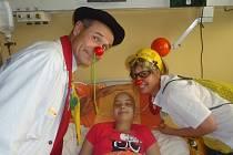 Kristýnka a zdravotní klauni