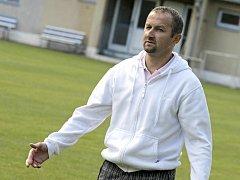 Pelhřimov předvedl proti dorostencům Sparty kvalitní výkon. Trenér Leoš Mitas (na snímku) byl po úvodním utkání přípravy spokojený.