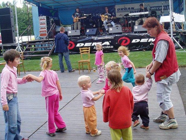 Odpoledne plné kultury a sportu se konalo v Kamenici nad Lipou