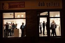 Na slavnostní otevření rozšířené galerie přišlo hodně lidí. K vidění tu jsou například obrazy od Zbyňka Sedleckého nebo slovenských malířů Martina Knuta a Dávida Baffiho.
