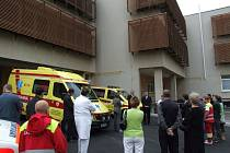 Nově otevřené Pelhřimovské centrum rychlé záchranky.