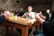 Druhý ligový turnaj ve voleném mariáši se hrál v sobotu 23. února v Horní Cerekvi.