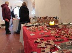 Zájemci si mohou prohlédnout i zakoupit výrobky klientů Fokusu Vysočina.