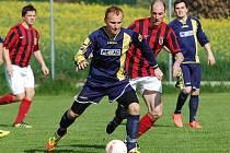 Fotbalisté Speřic sice hráli proti Třešti v improvizované sestavě, ale i tak prodloužili vítěznou sérii na tři zápasy. Záchranářské starosti tak pomalu mizejí v dáli.