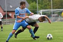 Fotbalisté Pelhřimova vyhráli v derby v Humpolci 2:0.