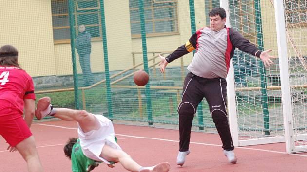 Národní házenkáři Jiskry Humpolec ligu dobře nezačali, v Brně prohráli.