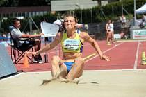 Dorota Skřivanová umí prakticky všechny atletické disciplíny. Před týdnem skončila čtvrtá na mistrovství republiky v dálce, teď si vylepšila osobní rekord ve čtvrtce.