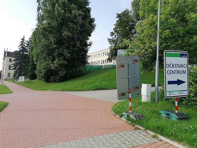 Už nyní očkování proti covidu funguje ivdruhém očkovacím centru vNemocnici Pelhřimov.