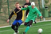 Soběslav v prvním duelu nastartovala svou cestu za vítězstvím v turnaji. Zásluhou dvou gólů Dvořáka porazila Kamenici nad Lipou 2:0.