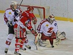 Druholigoví hokejisté Žďáru v neděli rozstříleli Pelhřimov.